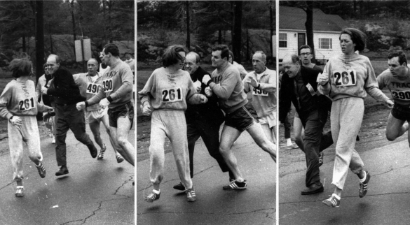 """Get the hell out of my race and give me those numbers!"" Jock Semple, BAA race official to Kathrine Switzer"
